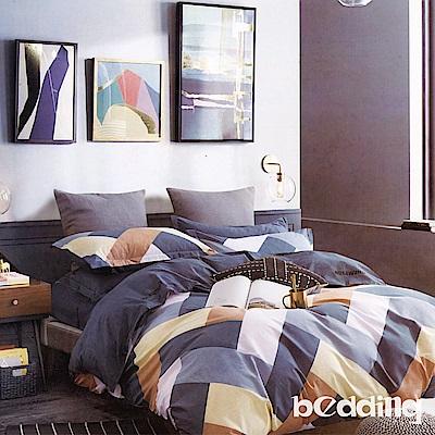 BEDDING-100%棉6尺加大雙人薄式床包三件組-四維空間