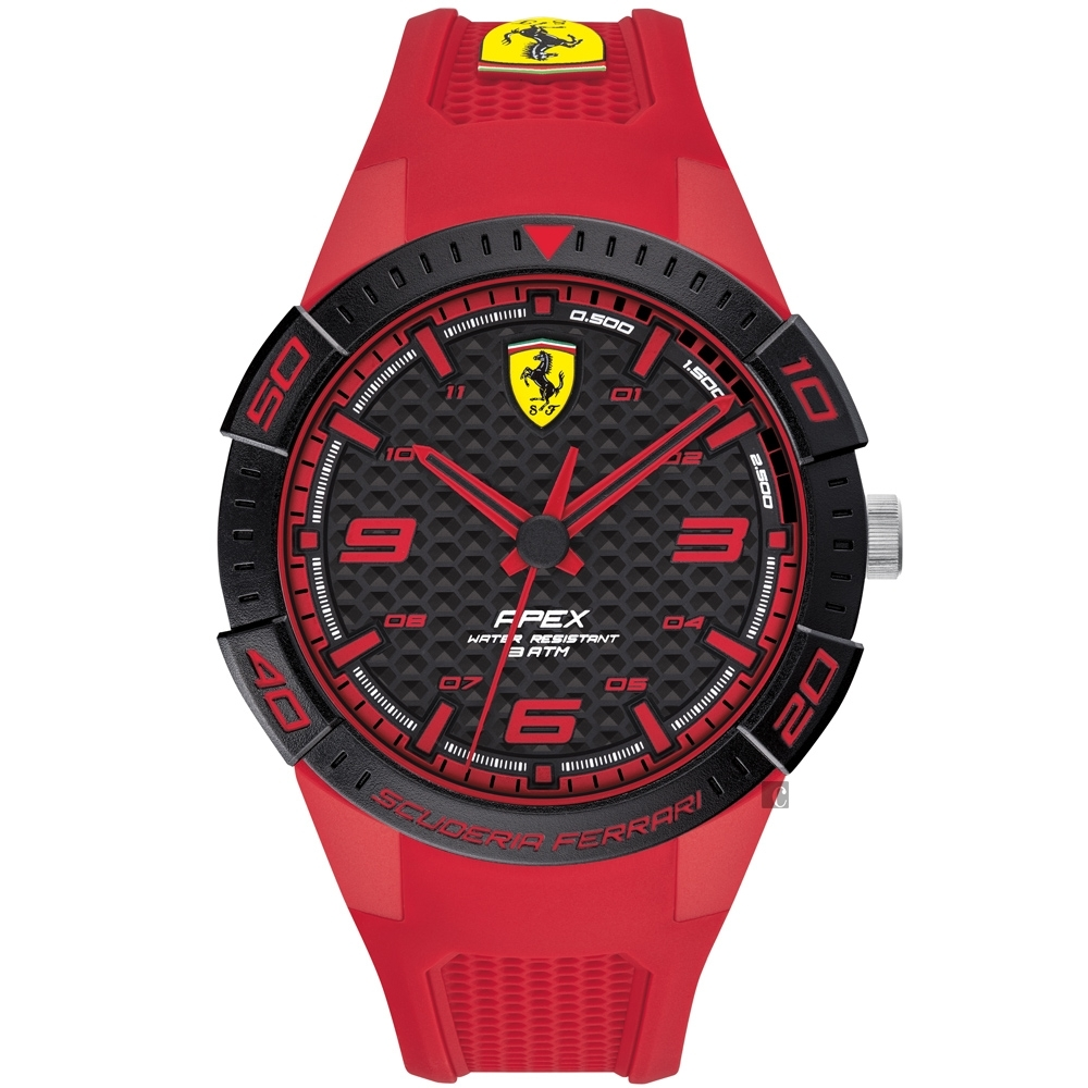 Scuderia Ferrari 法拉利 APEX系列手錶-44mm FA0830748 product image 1