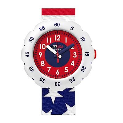 FlikFlak 兒童錶 STARS AND STRIPES 美式狂潮手錶