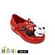 Melissa 迪士尼 Minnie Face娃娃鞋 寶寶款 紅 product thumbnail 1