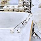 日本 凱斯特 CASTER 為妳穿上白紗 時尚銀項鍊防抗過敏 SUS316L頂級不鏽鋼飾品
