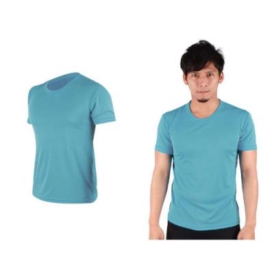 HODARLA 男女 FLARE 100 吸濕排汗衫 透明水藍