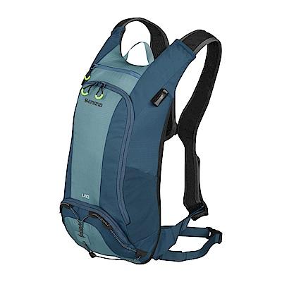 【SHIMANO】UNZEN 10L 自行車背包 (不含水袋) 愛琴海藍