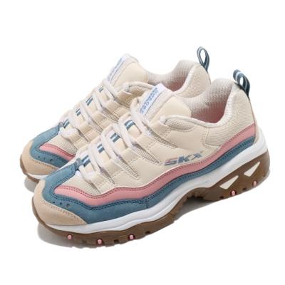 Skechers 休閒鞋 Energy-Oh So Pretty 女鞋 老爹鞋 增高 修飾 避震 緩衝 穿搭 米 粉 149228NTMT