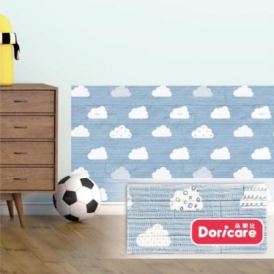 【Doricare朵樂比】QQ防護壁貼12入-晴空雲朵
