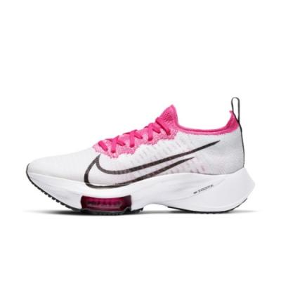 NIKE AIR ZOOM TEMPO NEXT% FK 女慢跑鞋-白粉-CI9924102