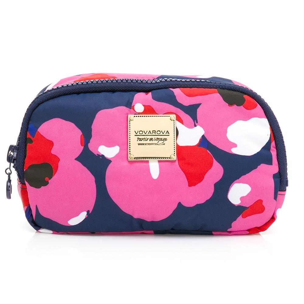 VOVAROVA空氣包-收納化妝包-翻糖朵朵系列/蜜桃甜心
