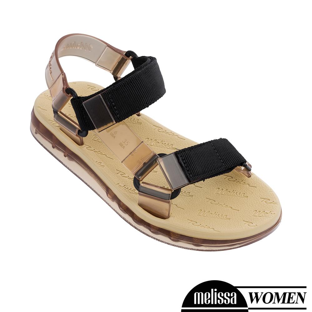 Melissa x Rider 潮流休閒涼鞋-褐