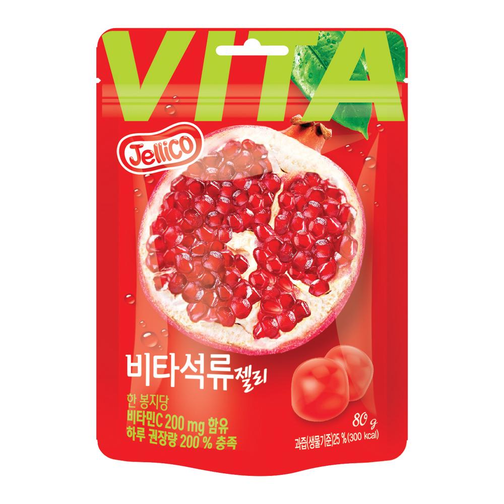 Jellico 石榴果汁軟糖(80g)