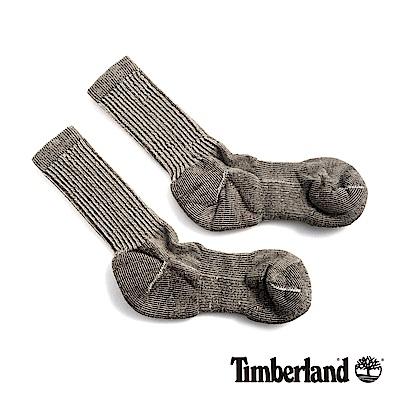 Timberland 男款灰褐色吸汗環保羊毛半筒襪|SW129