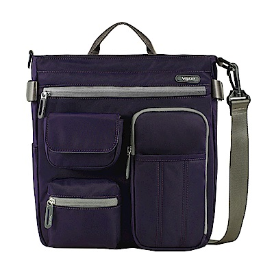 VoyLux伯勒仕-專櫃精品-輕時尚-防潑水三用輕巧包3681217A紫色