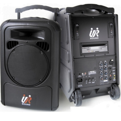 【UR SOUND】PA-9223PLUS(移動式藍芽雙無線擴音機)