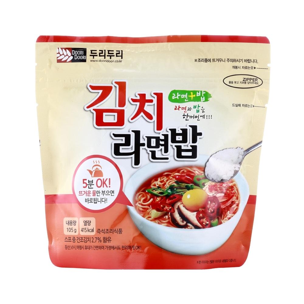 韓國Doori Doori 拉麵拌飯-泡菜味(105g)