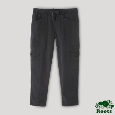 Roots 女裝- 多口袋工作褲-灰色