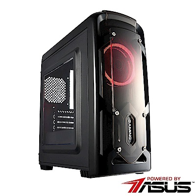 華碩A320平台[曙光鬥士]R5六核GTX1050TI獨顯SSD電玩機