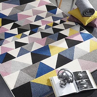 范登伯格 - 薇拉 現代地毯 - 彩三角 (160 x 230cm)