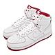 Nike 休閒鞋 Air Force 1 High 男女鞋 基本款 簡約 舒適 球鞋 情侶穿搭 白 紅 CV1753100 product thumbnail 1