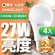 (4入) 舞光 LED燈泡16W 亮度等同27W螺旋燈泡 product thumbnail 1