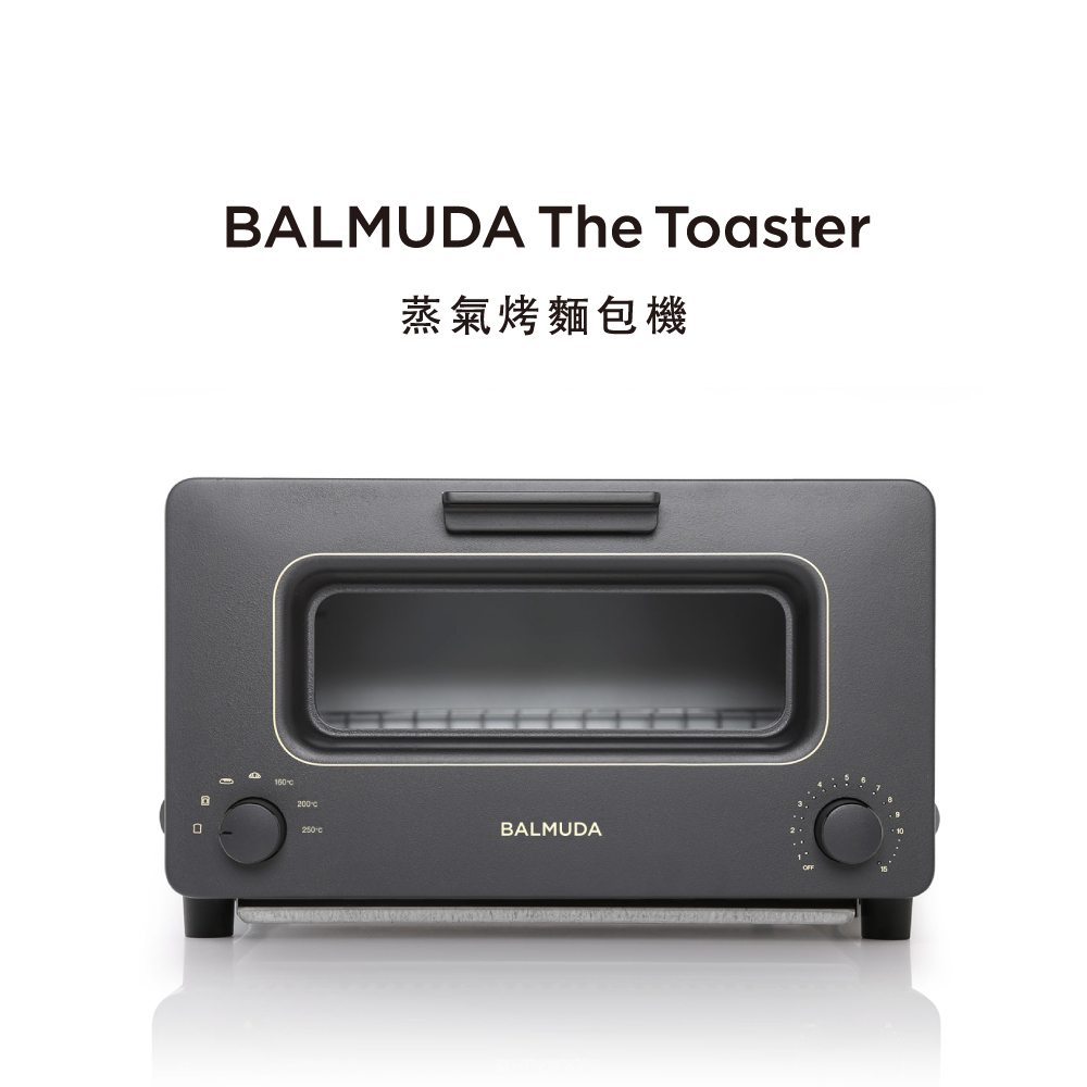 【禮盒版】BALMUDA The Toaster 蒸氣烤麵包機 (黑) K01J-KG