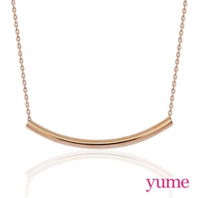 YUME 簡約線條項鍊