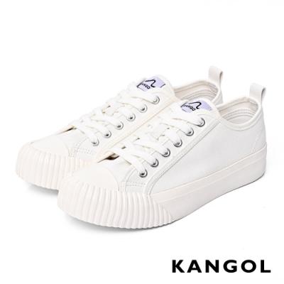 【KANGOL】休閒帆布鞋-共三色