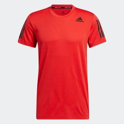 ADIDAS 上衣 短袖上衣 運動 健身 男款 紅 H11108 HEAT.RDY WARRIOR