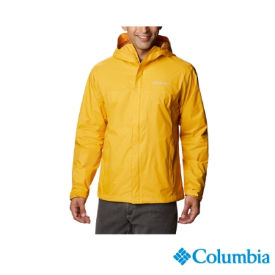 Columbia 哥倫比亞 男款 - Omni-Tech防水外套-黃色 URE24330YL