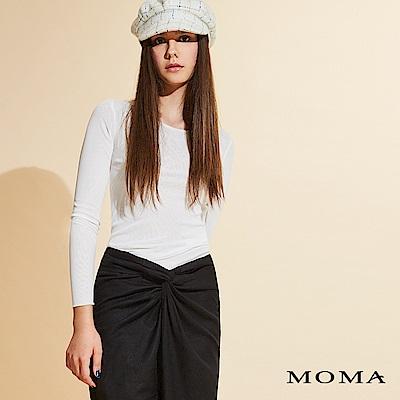 MOMA 牛奶絲基本上衣_2色
