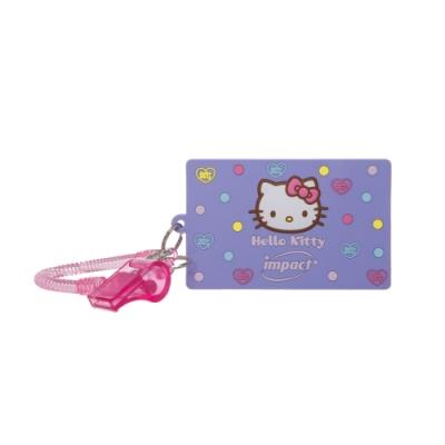 【IMPACT】怡寶 HELLO KITTY 點點世界卡套#粉紫 IMKTC01PL