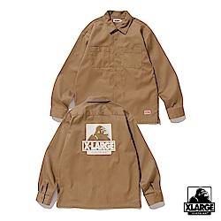 XLARGE L/S OG WORK SHIRT工作襯衫-卡其