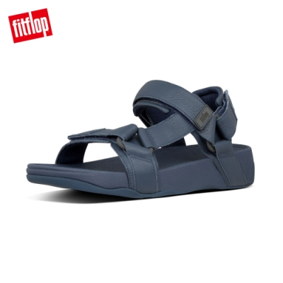 FitFlop RYKER BACK-STAP SANDALS魔鬼氈後帶涼鞋 午夜藍