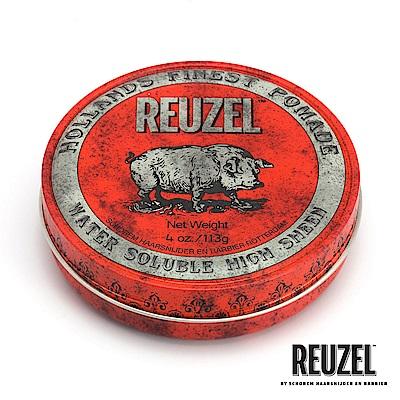 REUZEL Red Pomade紅豬中強水性髮油113g