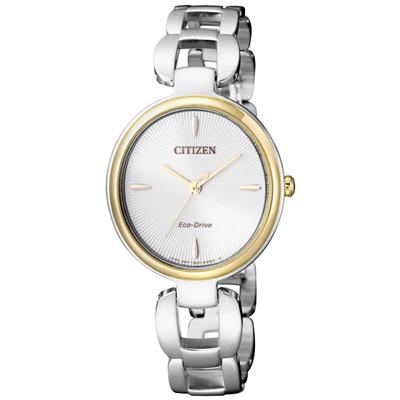 CITIZEN Eco-Drive 雲月之彩時尚女錶(EM0424-88A)-29mm