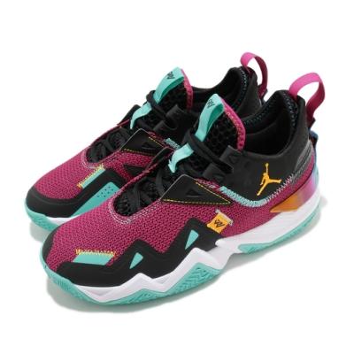 Nike 籃球鞋 Westbrook One 運動 男鞋 喬丹 避震 包覆 球鞋 XDR外底 黑 紫 CJ0781601