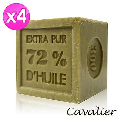 Cavalier 雪弗里耶 法國經典馬賽皂300g(4入組)