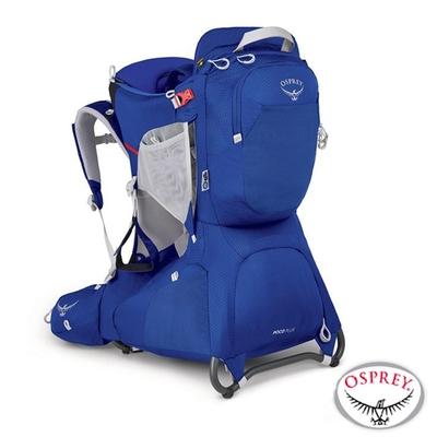 OSPREY 新款 Poco Plus Child Carrier 26L 網架式透氣嬰兒背架背包_天空藍