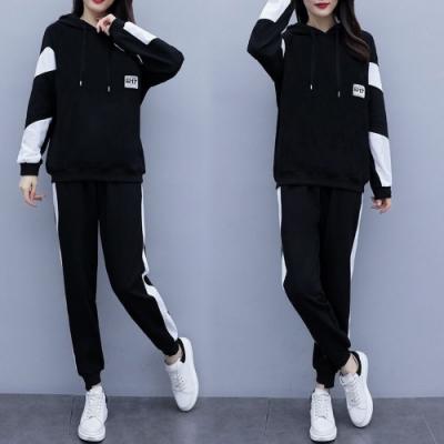 【韓國K.W.】(預購) 舒活步調運動系休閒套裝褲