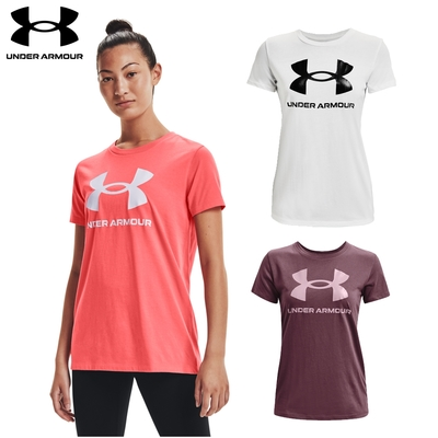 【UNDER ARMOUR】女 Training Graphic短T-Shirt 三色