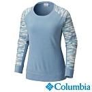 Columbia 哥倫比亞 女款-Fleece刷毛長袖上衣-灰藍