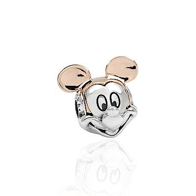 Pandora 潘朵拉 迪士尼系列 魅力雙色米奇 純銀墜飾 串珠