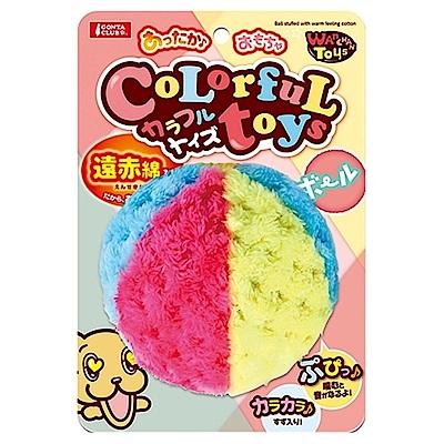 Marukan 貓咪暖暖三色球【CT-484】兩入組