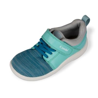 日本Combi童鞋 CORE-S兒童成長機能鞋 A03GR藍綠(小童段)