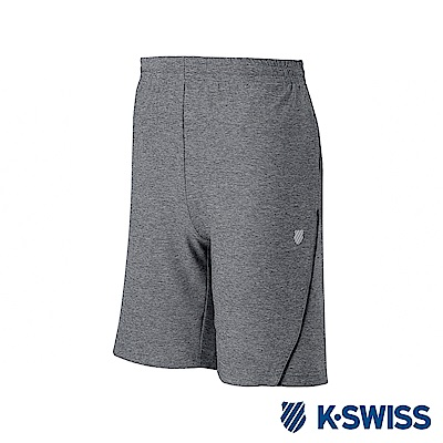 K-SWISS PF RE Melange Shorts運動短褲-男-灰