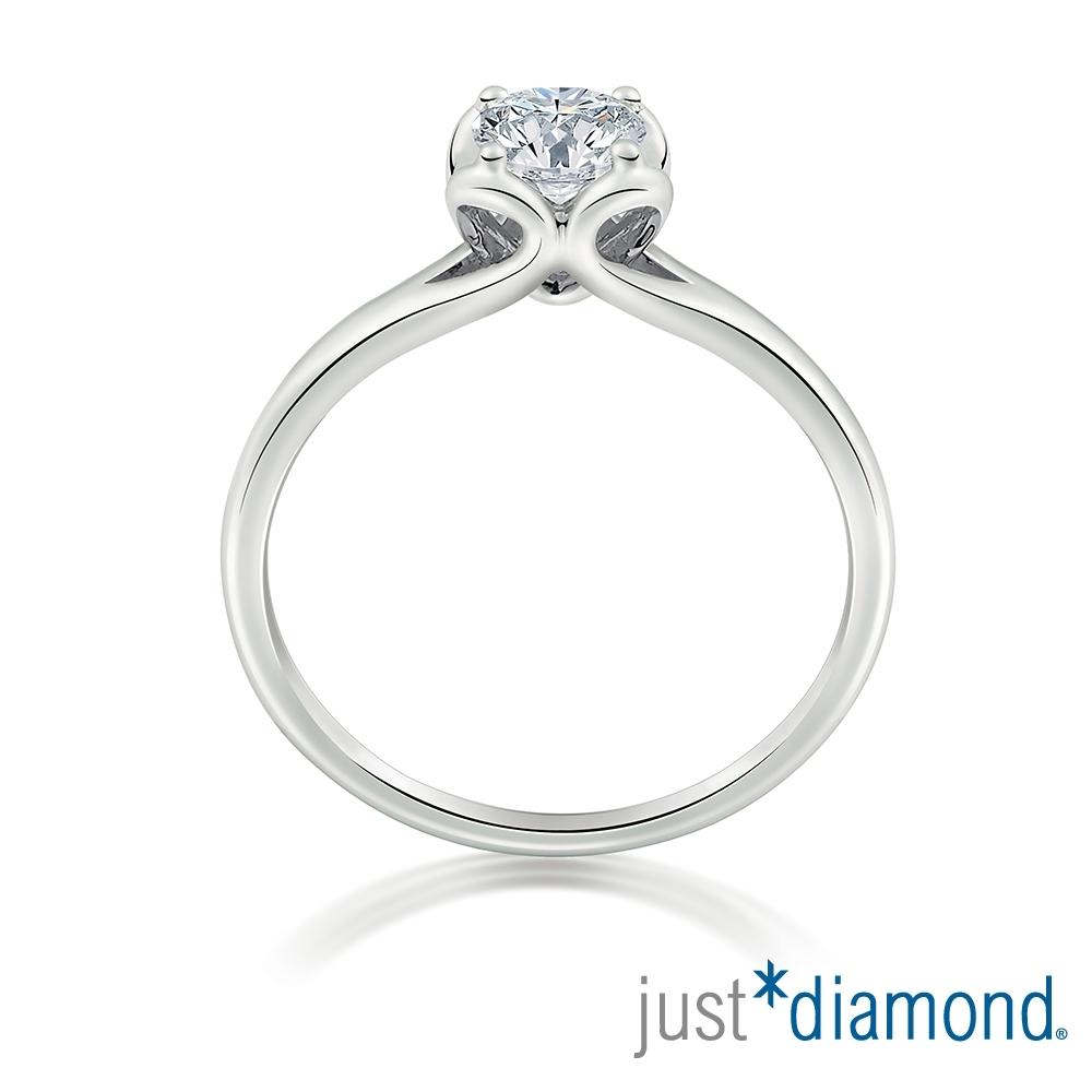 Just Diamond GIA 33分 18K金鑽石戒指-With Love