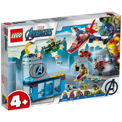 樂高LEGO 超級英雄系列 - LT76152 Avengers Wrath of Loki