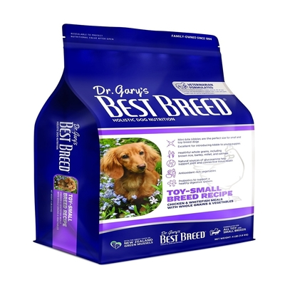 BEST BREED貝斯比-天然珍饌系列-小型成幼犬配方 4LBS(1.8KG) 小型犬及全犬種幼犬適用(購買第二件都贈送寵鮮食零食1包)