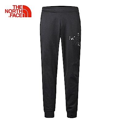 The North Face北面男款黑色舒適保暖運動長褲| 3RGLKS7