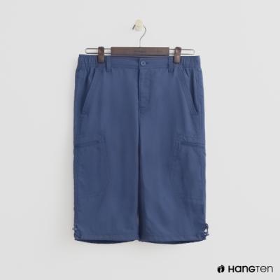 Hang Ten - 男裝 - ThermoContro-機能束口五分褲 - 藍