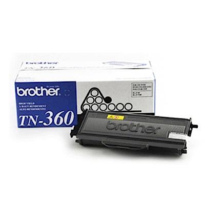 【原廠貨】Brother TN-360 雷射碳粉匣