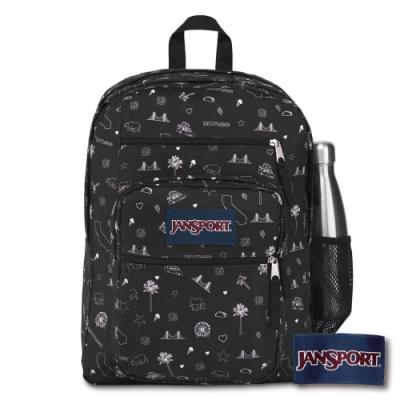 JANSPORT BIG STUDENT 系列後背包 -加州ICON / 黑